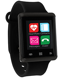ITouch Pulse Silicone Strap Smart Watch, Created For Macy's