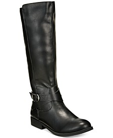 Madixe Wide-Calf Riding Boots, Created for Macy's