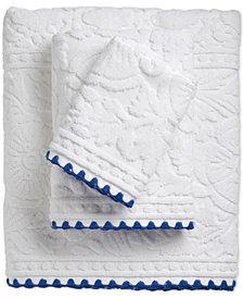 Caro Home Macedonia Cotton Jacquard Bath Towel Collection