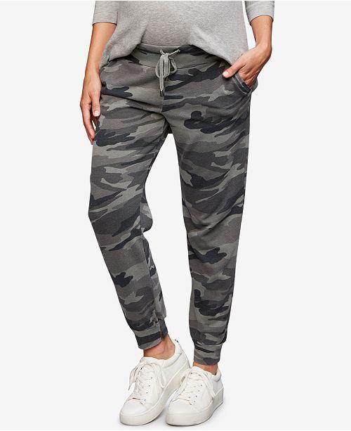 c6aacd31fc07b Splendid Maternity Camouflage Jogger Pants; Splendid Maternity Camouflage  Jogger Pants ...