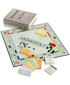 Winning Solutions Monopoly Vintage Bookshelf Edition Board Game