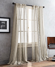 "DKNY Urban Safari Sheer 50"" x 108"" Pair of Window Panels"