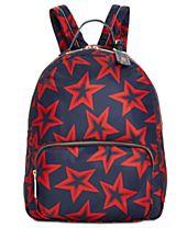 Tommy Hilfiger Julia Smooth Star-Print Large Backpack