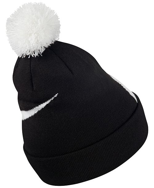 b435551b2c8 Nike Men s Exploded Swoosh Pom Pom Beanie - Hats