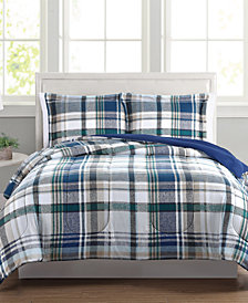 Beaufort 3-Pc. Reversible Comforter Set Collection, Created for Macy's