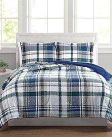 Beaufort Reversible 3-Pc. King Comforter Set, Created for Macy's