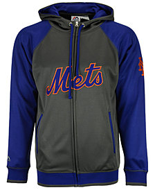 Majestic Men's New York Mets Fanatic Raglan Full-Zip Hoodie