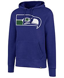 '47 Brand Men's Seattle Seahawks Retro Knockaround Hoodie