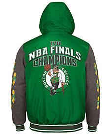 G-III Sports Men's Boston Celtics Top Brass Hooded Varsity Jacket