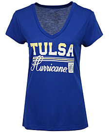 Colosseum Women's Tulsa Golden Hurricane PowerPlay T-Shirt