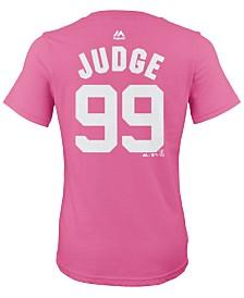 Majestic Aaron Judge New York Yankees Player T-Shirt, Girls (4-16)