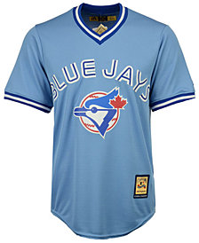 Majestic Men's Toronto Blue Jays Cooperstown Blank Replica CB Jersey