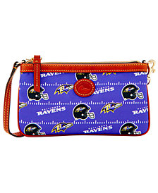 Dooney & Bourke Baltimore Ravens Nylon Wristlet