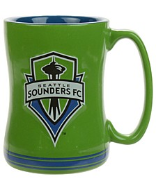 Seattle Sounders FC 15 oz. Relief Mug