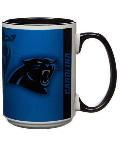 Carolina Panthers 15oz Super Fan Inner Color Mug