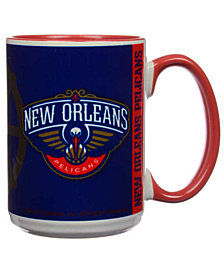 New Orleans Pelicans 15oz Super Fan Inner Color Mug