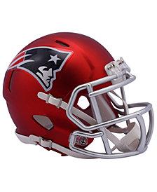 Riddell New England Patriots Speed Blaze Alternate Mini Helmet