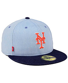 New Era New York Mets X Levi 59FIFTY Fitted Cap