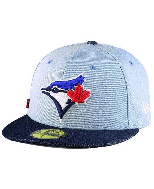 New Era Toronto Blue Jays X Levi 59FIFTY Fitted Cap - Sports Fan ... 5fd197972f8e