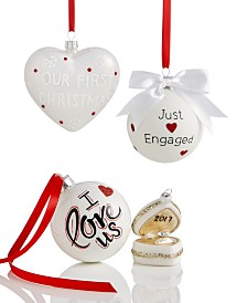 "Holiday Lane ""Our First"" Ornament Collection, Created for Macy's"