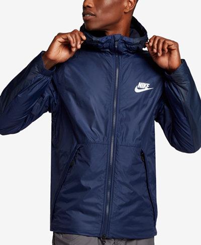 Nike Men's Sportswear Insulated Rain Jacket - Coats & Jackets ...