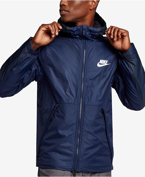 c5fbcd4203d9 Nike Men s Sportswear Insulated Rain Jacket   Reviews - Coats ...