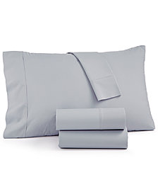 LAST ACT! AQ Textiles NuPercale 400 Thread Count 4-Pc. Queen Sheet Set