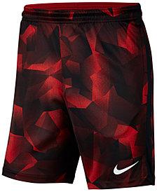 Nike Men's Dry Squad Printed Soccer Shorts