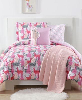 Llama Reversible 3-Pc. Printed Full/Queen Comforter Set