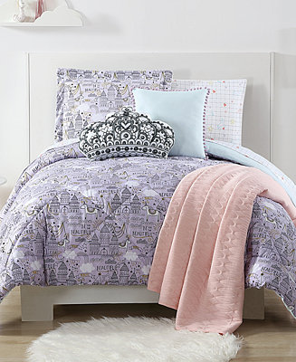 Laura Hart Kids Unicorn Princess Printed Bedding