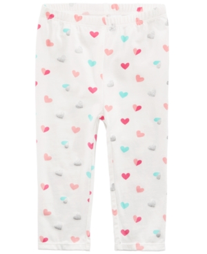 First Impressions HeartPrint Leggings Baby Girls (024 months) Created for Macys