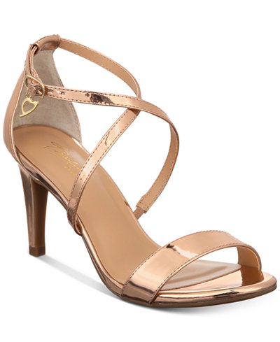 Thalia Sodi Darria Strappy Sandals, Created for Macy's - Sandals ...