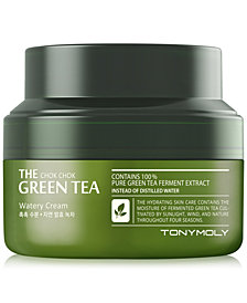 TONYMOLY The Chok Chok Green Tea Watery Cream, 60ml