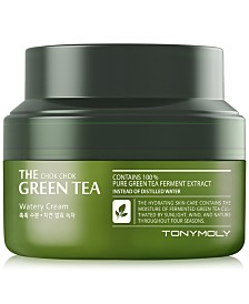 TONYMOLY The Chok Chok Green Tea Watery Cream, 2 oz.