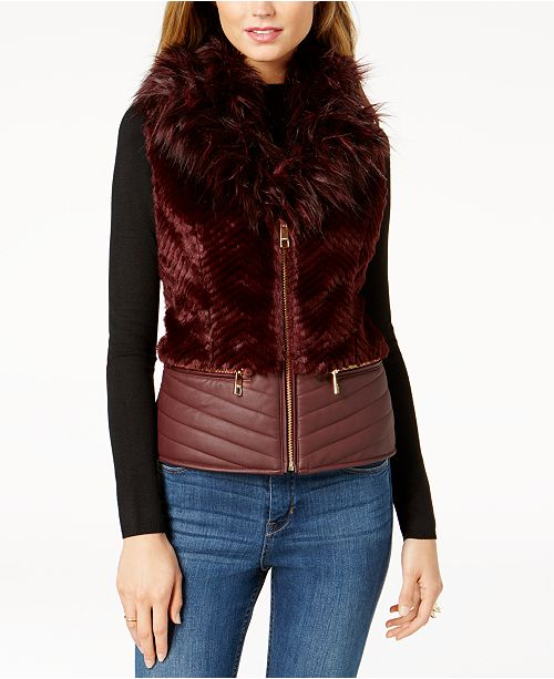 Piper Faux-Fur Vest