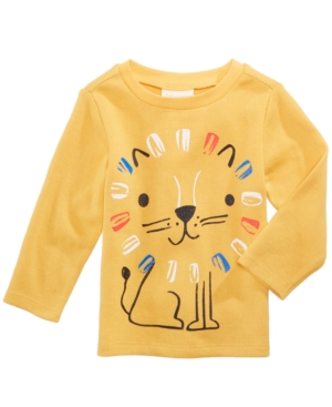 First Impressions LionPrint Thermal TShirt Baby Boys (024 months) Created for Macys