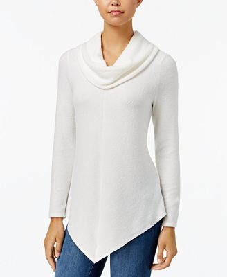 BCX Juniors' Cowl-Neck Sweater - Juniors Sweaters - Macy's