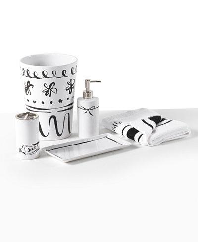 kate spade new york Daisy Place Bath Accessories - Bathroom ...