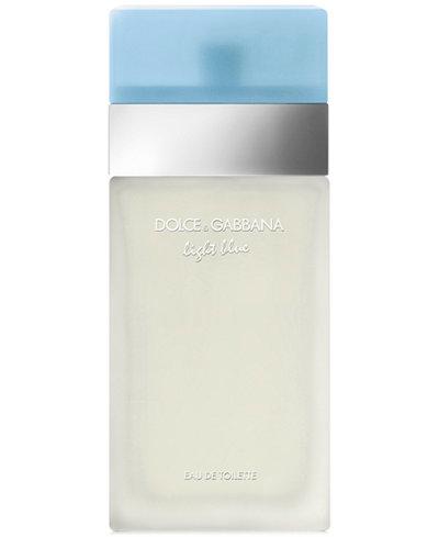 Dolce Amp Gabbana Light Blue Eau De Toilette Spray 6 6 Oz Fragrance Beauty Macy S