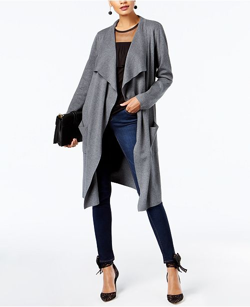 INC International Concepts INC Duster Cardigan, Created for Macy's
