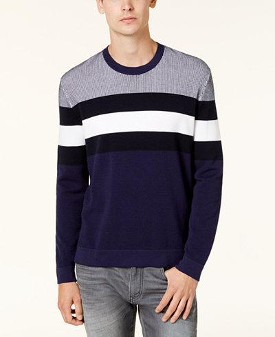 Armani Exchange Men's Stripe Sweater