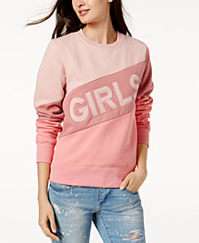 The Style Club Girls Colorblocked Sweatshirt