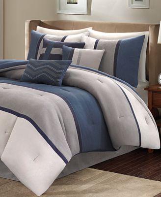 Palisades 7-Pc. King Comforter Set