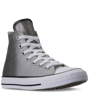 319ff9ff8cdf CONVERSE WOMEN S CHUCK TAYLOR HIGH TOP CASUAL SNEAKERS FROM FINISH LINE