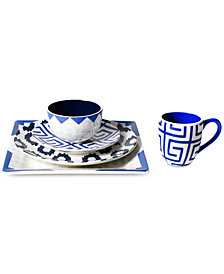Coton Colors Azurite Dinnerware Collection