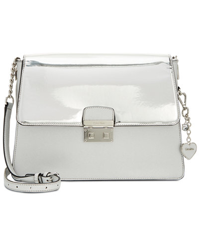 Calvin Klein Metallic Medium Messenger