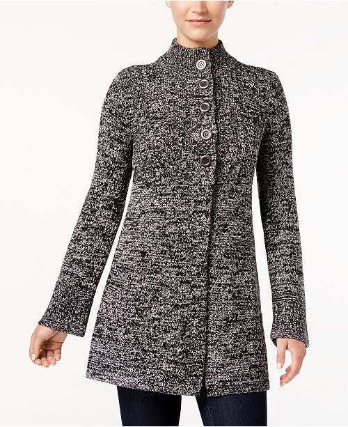 Style Co Button Front Bell Sleeve Cardigan Created For Macys