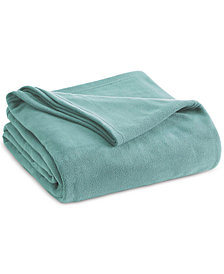 Vellux Brushed Microfleece Twin Blanket