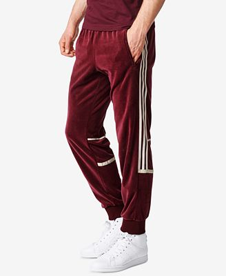 adidas Men's Originals Challenger Velour Track Pants