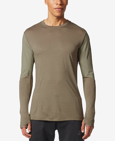 adidas Men's ClimaHeat® Long-Sleeve T-Shirt